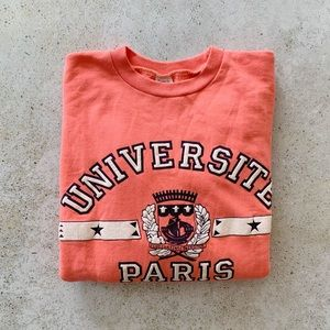 🌾 VINTAGE University of Paris Sorbonne Sweatshirt